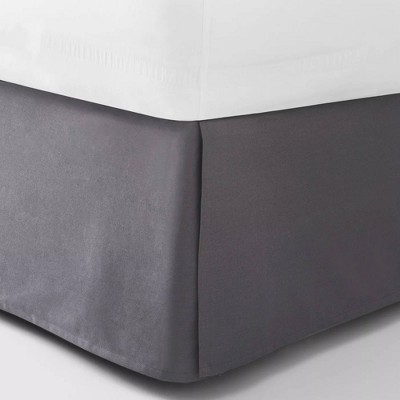 King Bedskirt Dark Gray - Room Essentials™