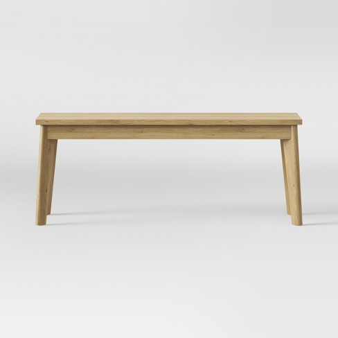 Dining Bench Natural - Made By Design™ - image 1 of 4
