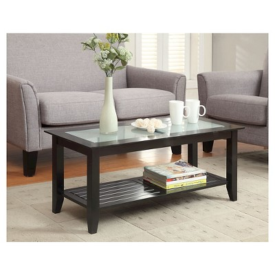 Carmel Coffee Table Black - Convenience Concepts