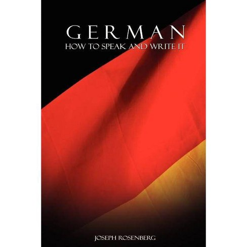 German - by  Joseph Rosenberg (Paperback) - image 1 of 1