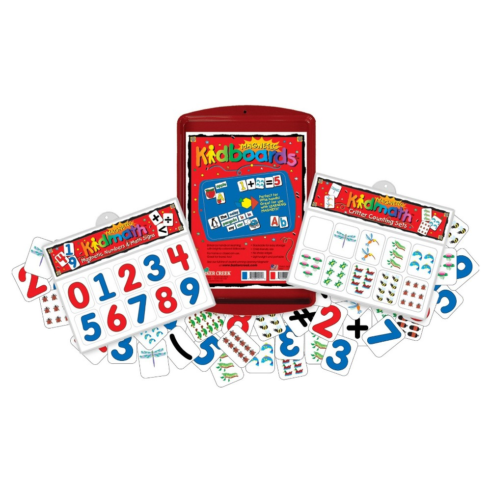 Image of Barker Creek Learning Magnets - Numbers Activity Set