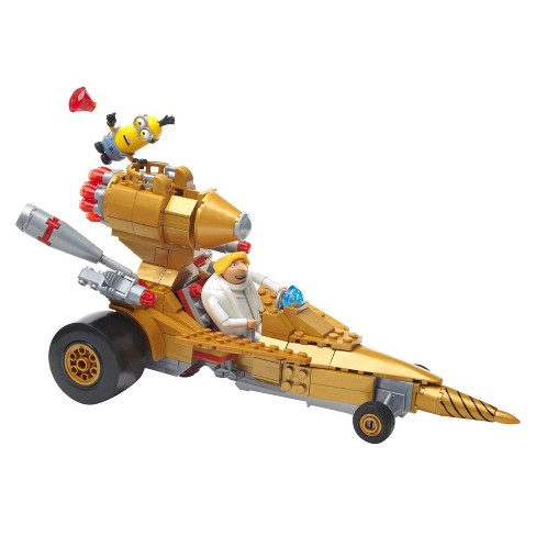 Mega Construx Despicable Me 3 Dru's Transforming Vehicle Building Set - image 1 of 12
