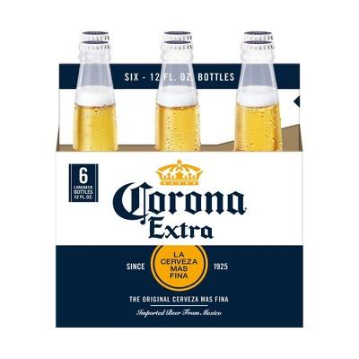 Corona Extra Lager Beer - 6pk/12 fl oz Bottles