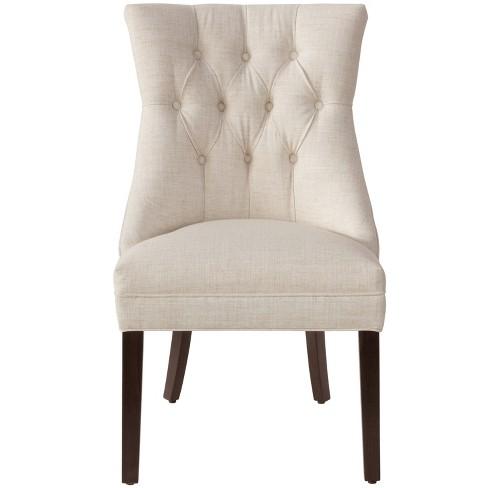 04150be8cc2 Niki Modern English Arm Chair Talc Linen - Cloth   Co.   Target