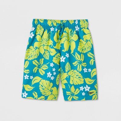 Speedo Boys' Summer Vision Swim Trunks - Teal