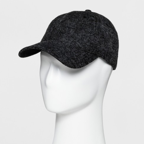 0608ad81c46 Men s Textured Baseball Cap - Goodfellow   Co™ Grey One Size   Target