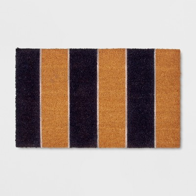18  x 30  Cabana Stripe Outdoor Doormat Navy - Threshold™