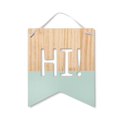 Hi! Banner - Cloud Island™ White