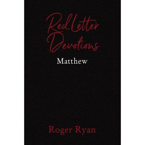 Red Letter Devotions - by  Roger Ryan (Paperback) - image 1 of 1