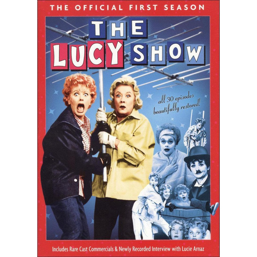 The Lucy Show: The Official First Season (4 Discs) (DVD) Compare