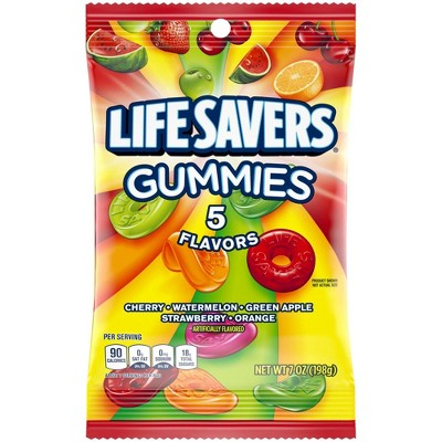 Life Savers Gummies 5 Flavors Gummy Candy - 7oz