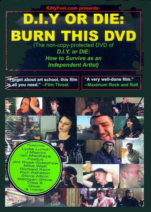 Diy or die:How to survive as independ (DVD) - image 1 of 1