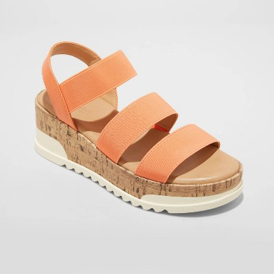 Women's Benni Sporty Platform Sandals - Universal Thread™