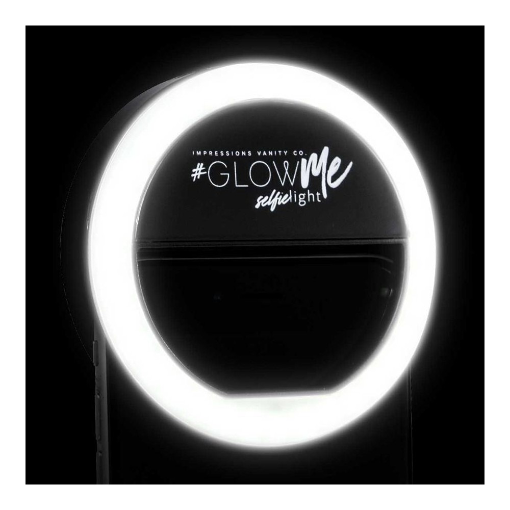 Image of Impressions Vanity GlowMe 1.0 LED Selfie Ring Light - Black