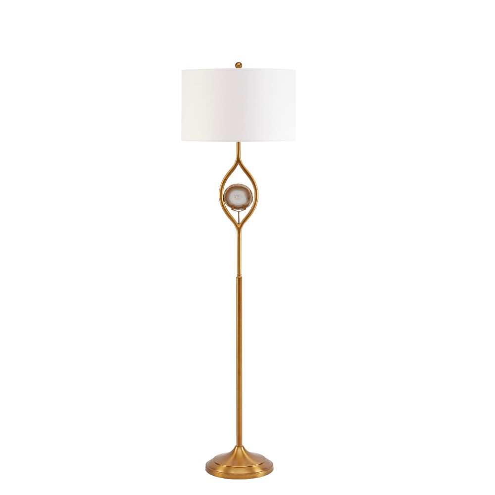 Gary Floor Lamp Gold 18