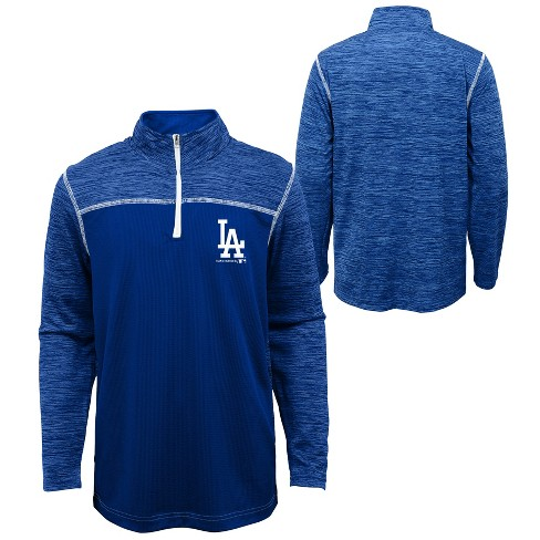 new product 8cace 51379 MLB Los Angeles Dodgers Boys' In the Game 1/4 Zip Sweatshirt