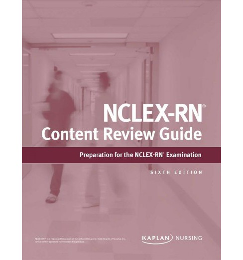 Kaplan NCLEX-RN Content Review Guide -  (Paperback) - image 1 of 1
