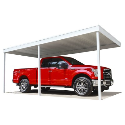 Attached Patio Cover, Carport, 10u0027 X 20u0027   Arrow Storage Products : Target