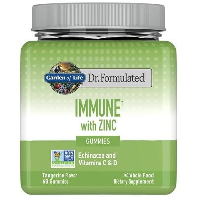 Garden of Life Dr. Formulated Adult Immune + Zinc Gummy - 60ct