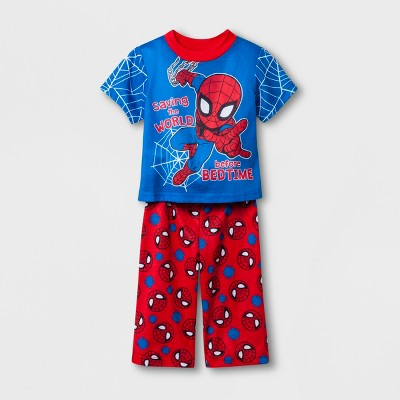 Baby Boys' Spider-Man 2pc Pajama Set - Blue 12 M