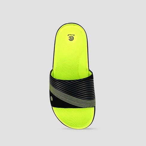 5287c97a3cfea Boys  Patch Slide Sandals - C9 Champion® Green XL   Target