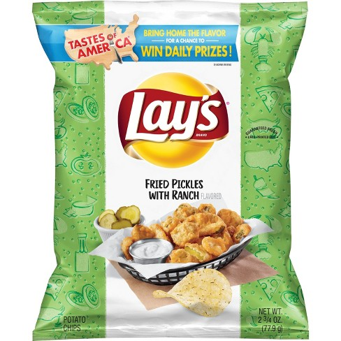 Lays Fried Pickles with Ranch - 2.75oz - image 1 of 2