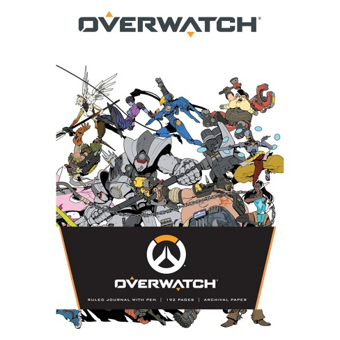 Overwatch: Hardcover Ruled Journal with Pen - by  Insight Editions - image 1 of 3