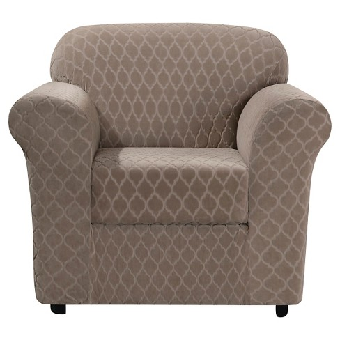 Stretch Marrakesh Chair Slipcover - Sure Fit - image 1 of 2