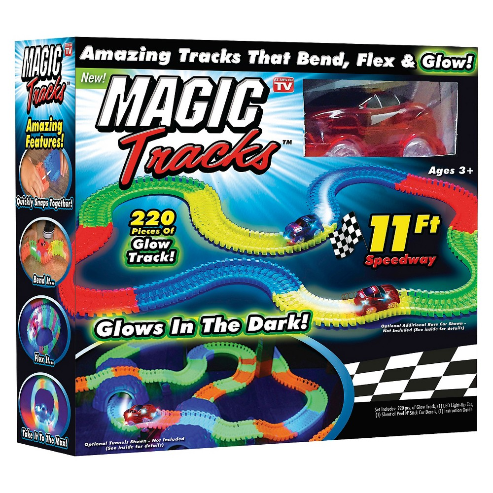 Astv Magic Tracks Racetrack (colors may vary), Multi-Colored