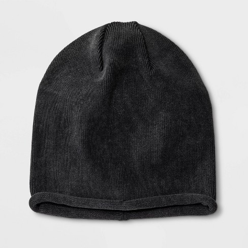 Boys' Solid Beanie - art class™ Black - image 1 of 1