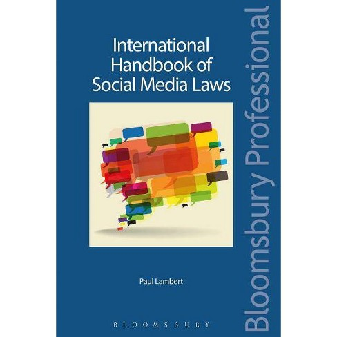 International Handbook of Social Media Laws - by  Paul Lambert (Paperback) - image 1 of 1