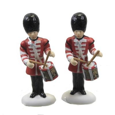 "Department 56 Accessory 2.75"" Drummer Drumming Dicken's Village Series  -  Decorative Figurines"