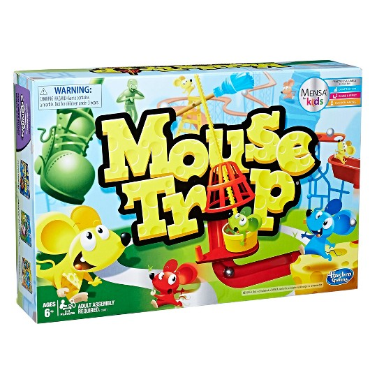 Mouse Trap Game, Kids Unisex image number null