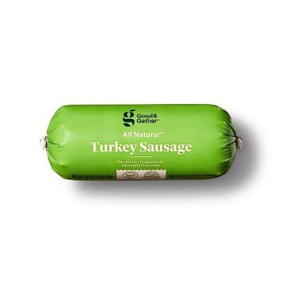 All Natural Turkey Sausage Roll - 16oz - Good & Gather™