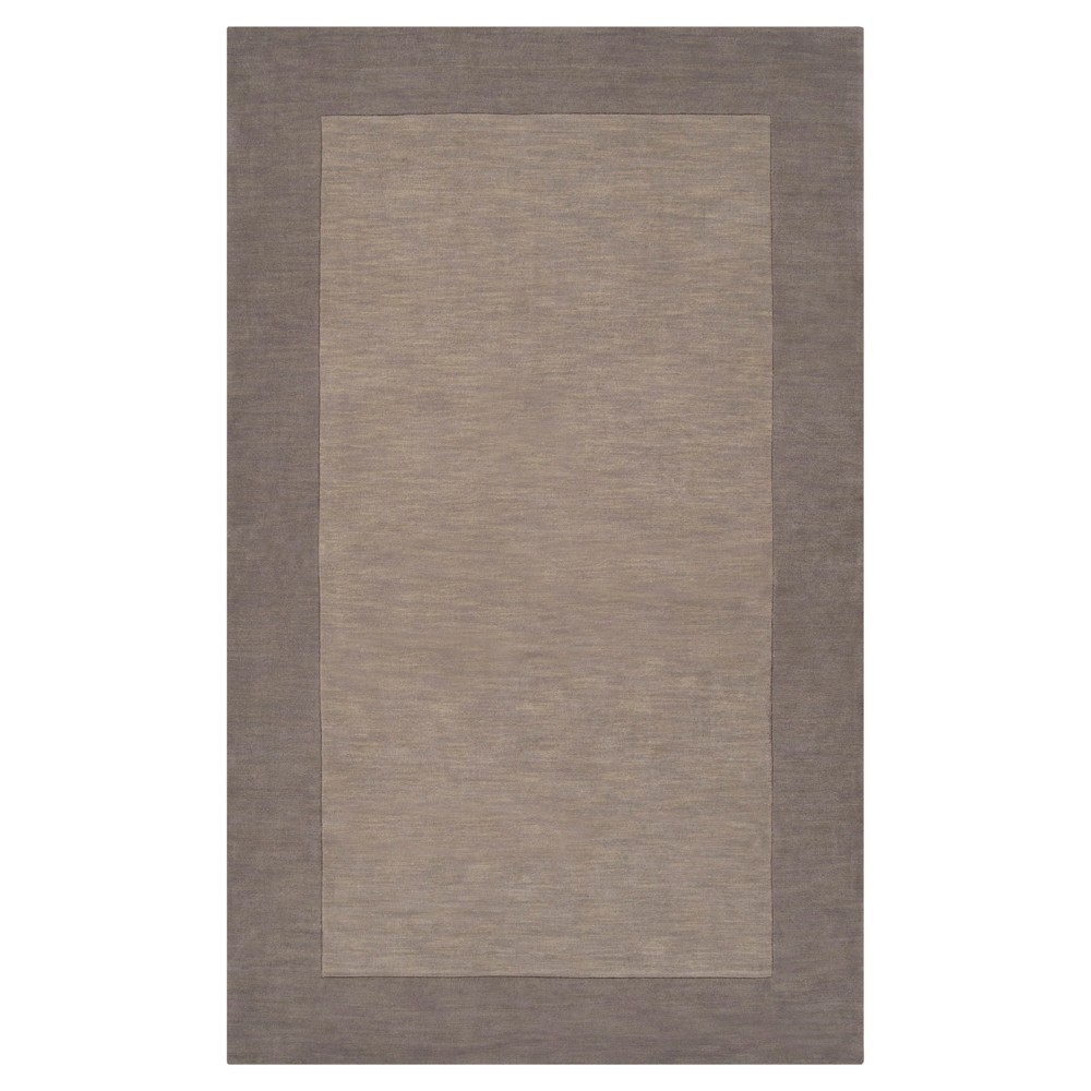 Taupe (Brown) Solid Loomed Area Rug (12'x15') - Surya