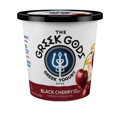 The Greek Gods Black Cherry Greek Yogurt - 24oz