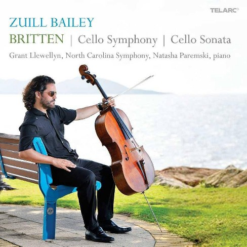 Zuill Bailey - Britten: Cello Symphony/Cello Sonata (CD) - image 1 of 1