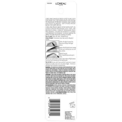 L'Oréal Paris Brow Stylist Shape & Fill - 0.45oz