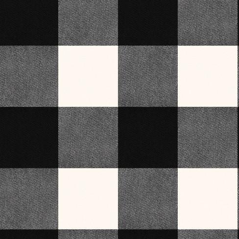 Buffalo Plaid Peel & Stick Wallpaper Black - Threshold™ - image 1 of 4
