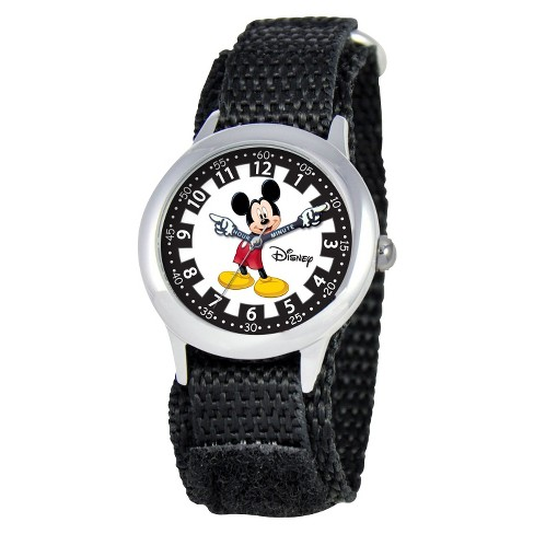 Disney® Kids Mickey Mouse Watch - Black - image 1 of 1
