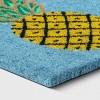 "1'6""x2'6"" Pineapple Coir Doormat Rug Blue - Sun Squad™ - image 2 of 3"
