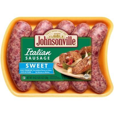 Johnsonville Sweet Italian Sausage Links - 19oz/5ct