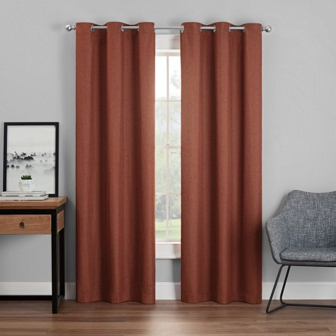 Windsor Blackout Curtain Panel - Eclipse - image 1 of 4