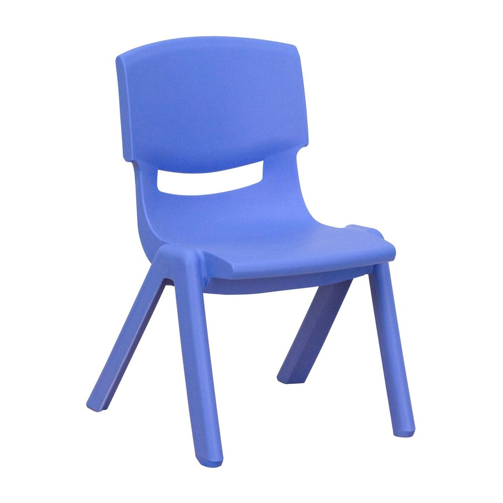Image of Small Stacking Student Chair - Blue - Belnick, Adult Unisex