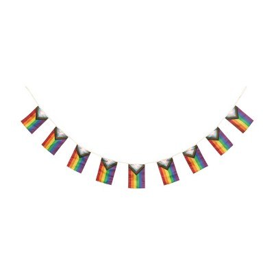 Pride Flag Banner Decorative Party Accessory