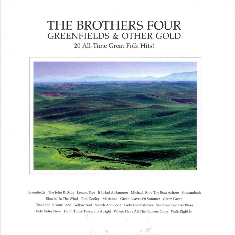 Brothers four - Greenfields & other gold (CD)