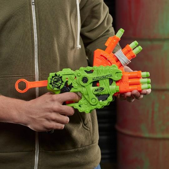 NERF Nerf Zombie Strike Alternator Blaster image number null