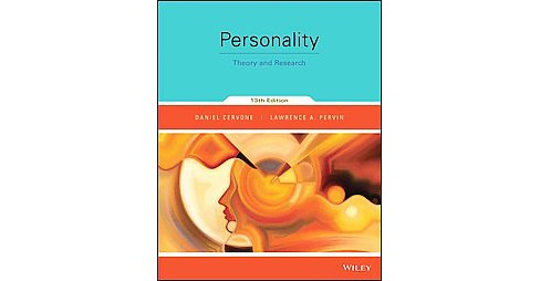 Personality : Theory and Research (Paperback) (Daniel Cervone) - image 1 of 1