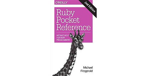 Ruby Pocket Reference (Paperback) (Michael Fitzgerald) - image 1 of 1