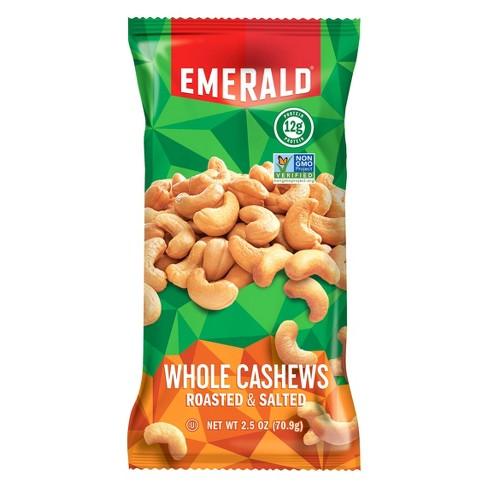 Emerald® Roasted & Salted Whole Cashews - 2.5oz - image 1 of 1